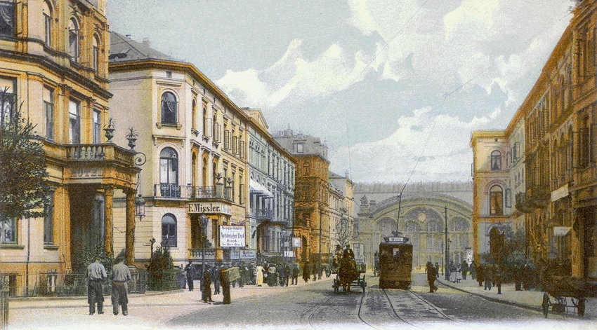 Nr.58 Bahnhofstrasse - Tram Horn