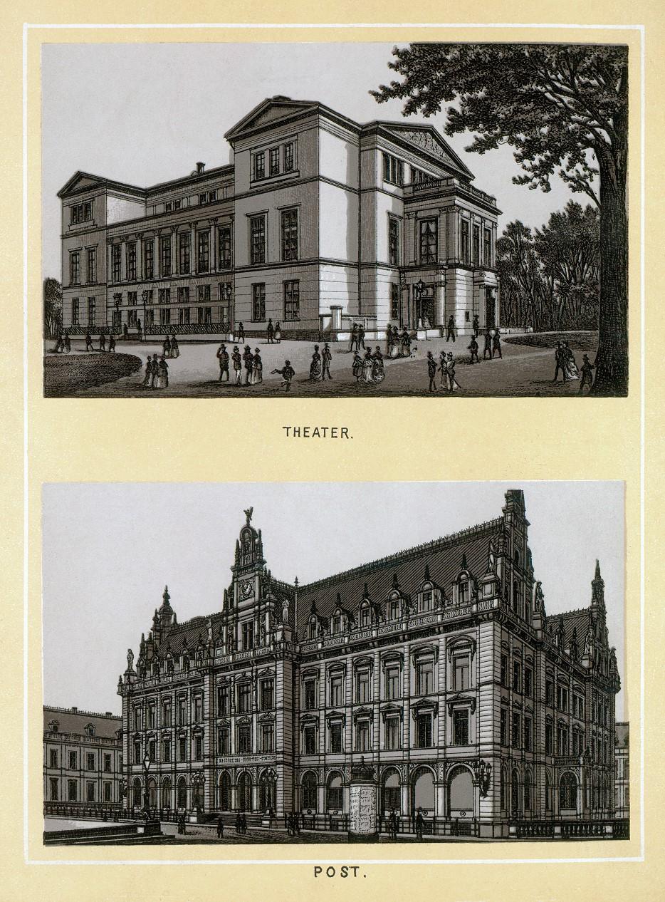 Stich - Theater und Postamt