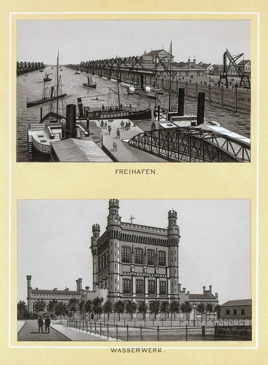 Stich - Freihafen und Wasserwerk