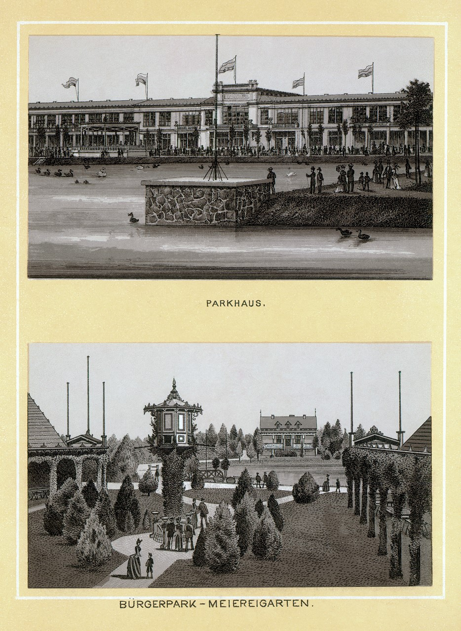 Stich - Parkhaus und Meiereigarten