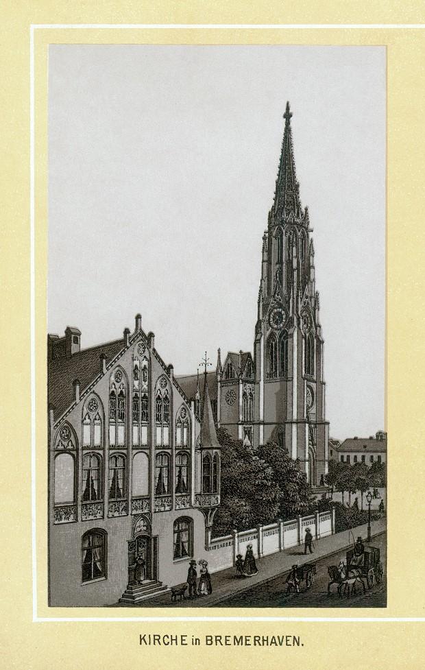 Stich - Kirche in Bremerhaven